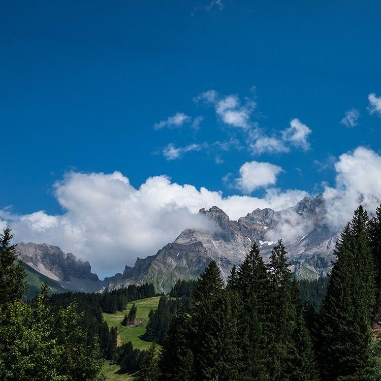 Paysage et montagnes