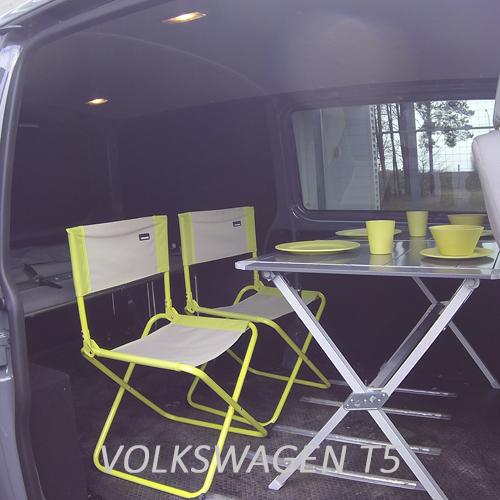 Lidoo plié avec table et chaises