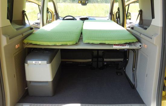 Ford Tourneo equipé Lidoo vert