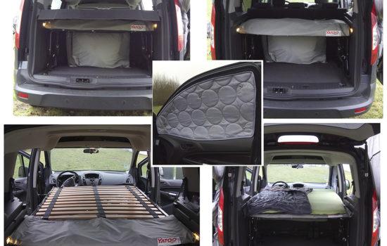 Ford Tourneo equipé avec Lidoo