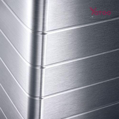 YATOO_Glacière absorption ACX carrosserie aluminium Dometic 201Glacière à absorption