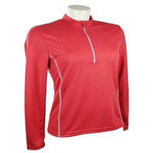 Tee shirt respirant femme rouge