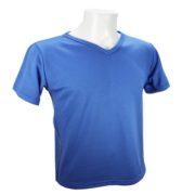 Tee shirt respirant homme zaka bleu