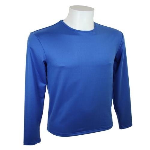 Tee shirt respirant homme zami bleu face