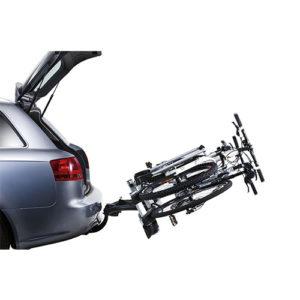 Porte-vélos voiture derrière