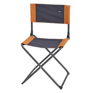 Chaise pliante tangerine