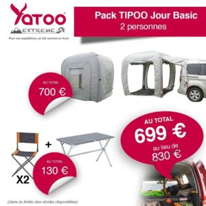 yatoo extreme pack tipoo jour