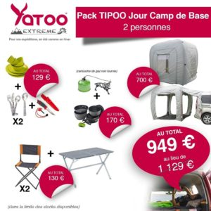 yatoo extreme pack tipoo jour camp de base