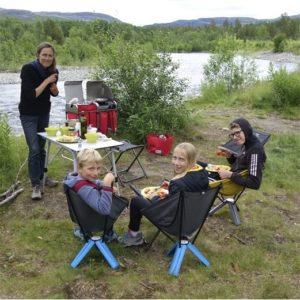 Galerie photos Roadtrip manger son repas preparé avec Kinoo