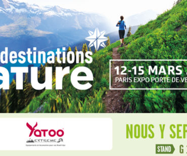 YATOO Extreme expose au salon Destination Nature à PARIS